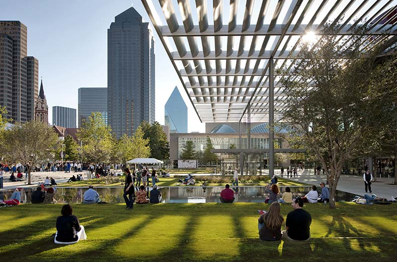 Work in Downtown Dallas' most accessible building