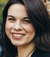 Picture shows Maggie Snow - Community Manager