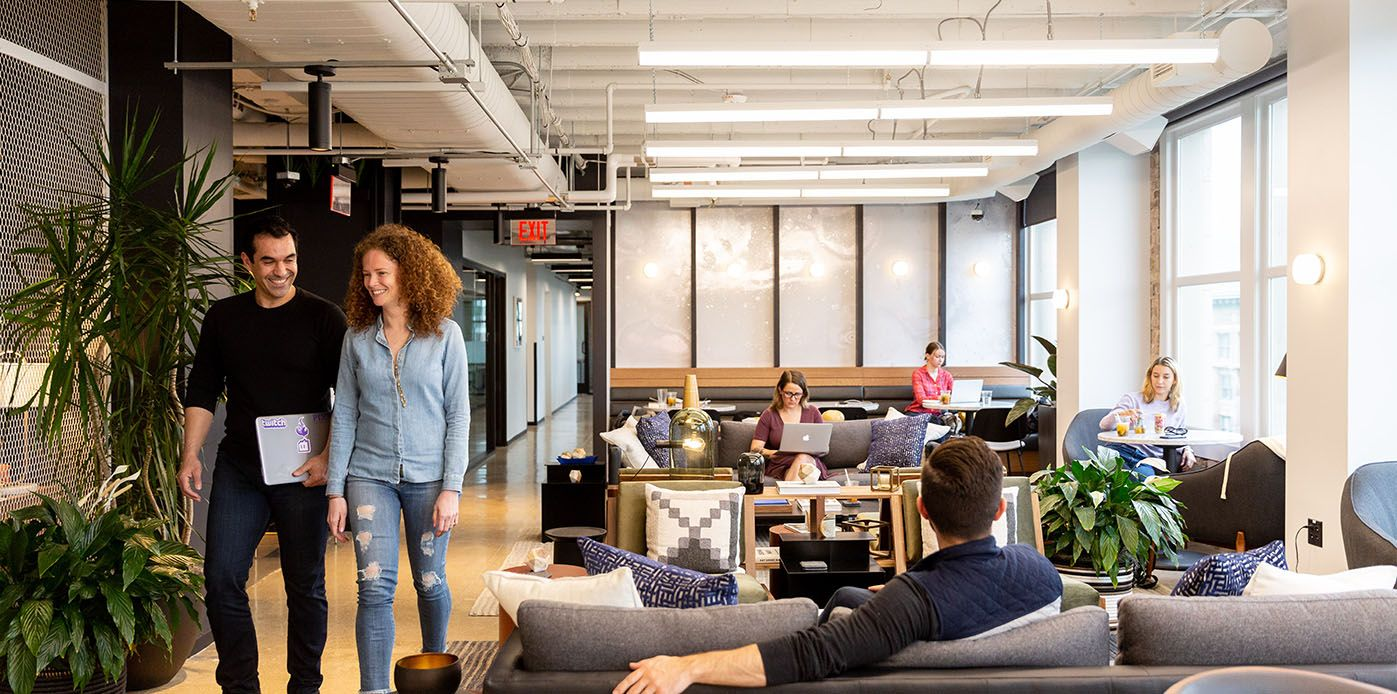 Columbus Mercantile Coworking Office Space Industrious