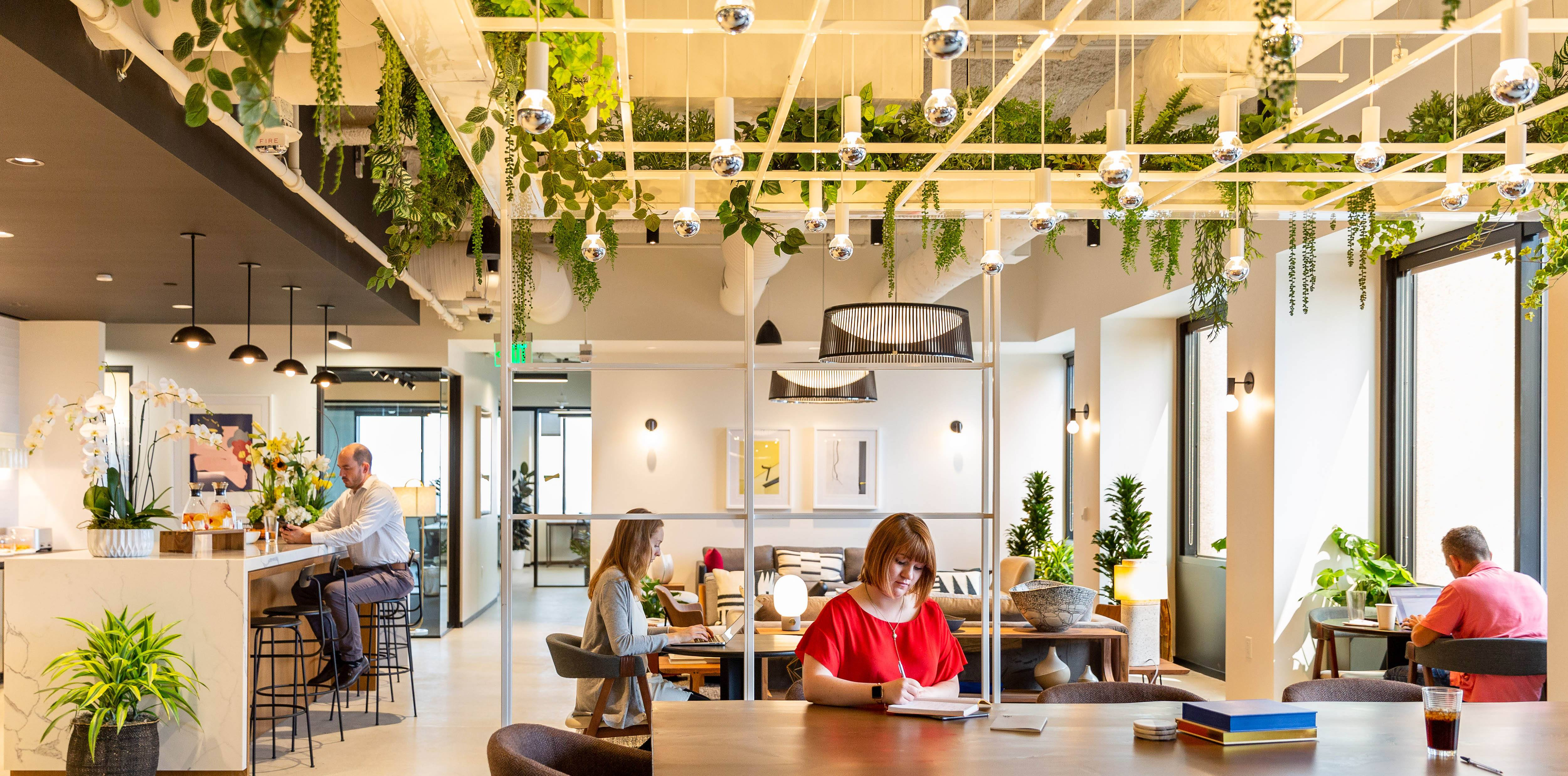 Premium Coworking Office Space In La Century City Industrious
