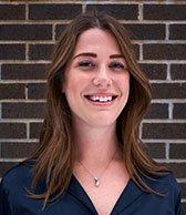 Picture shows Laurel Lindberg - Community Manager