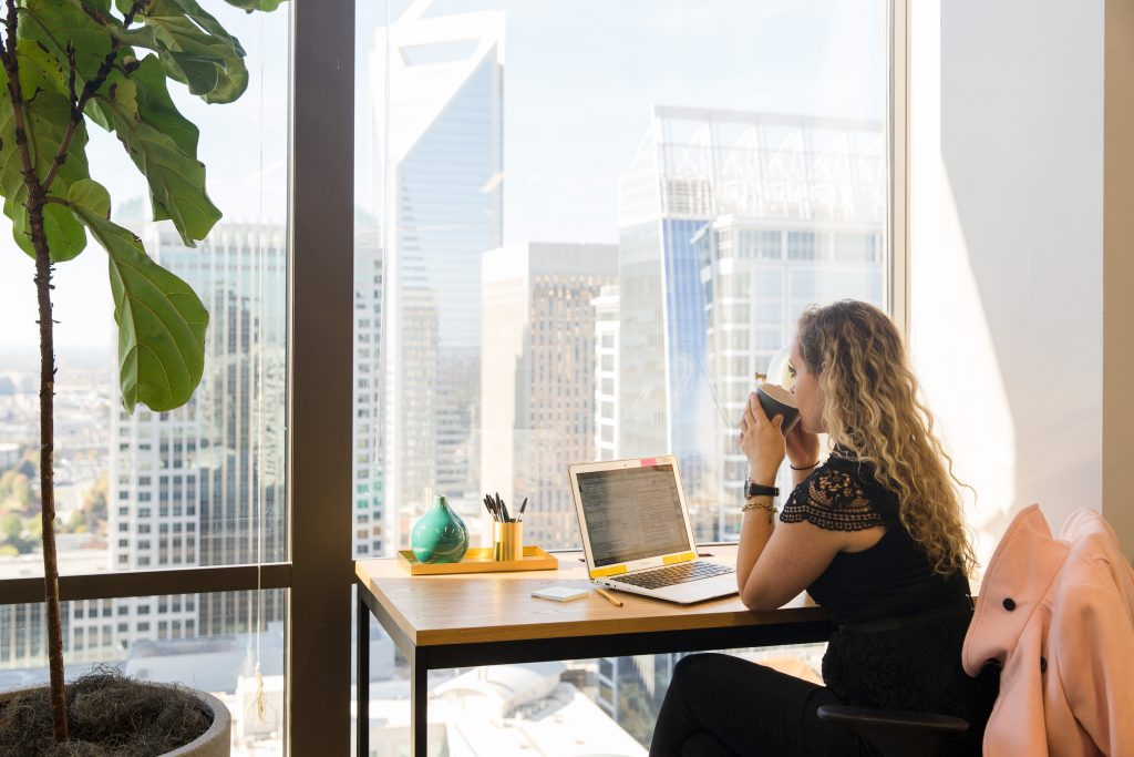 Check out these four productivity tips.                                                          Do you spend most of your weekday at your desk?  Do you spend most of your weekday at your desk?