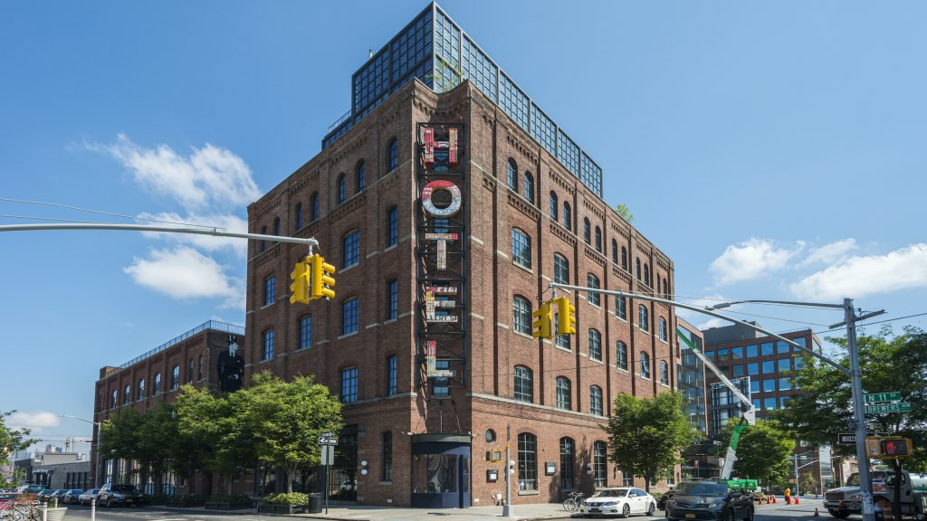 You can rent an office for the day at Work From Here by Industrious at Wythe Hotel in Brookyn.