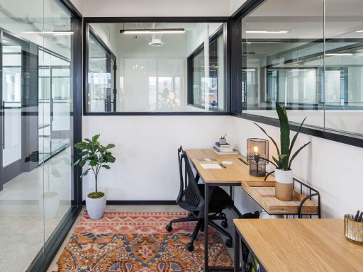 A private office at Industrious Ogilvie in Chicago. Are you ready to update your office layout?