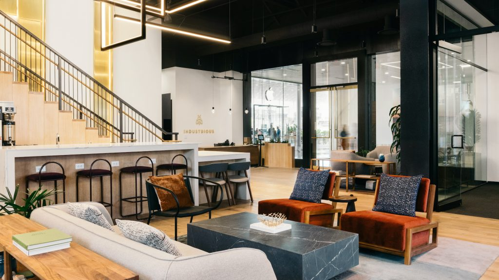Members of Industrious Fashion Square share why flexible office space was right for them.    