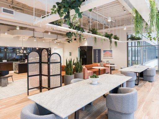 Get a peek inside Industrious Fashion District.
