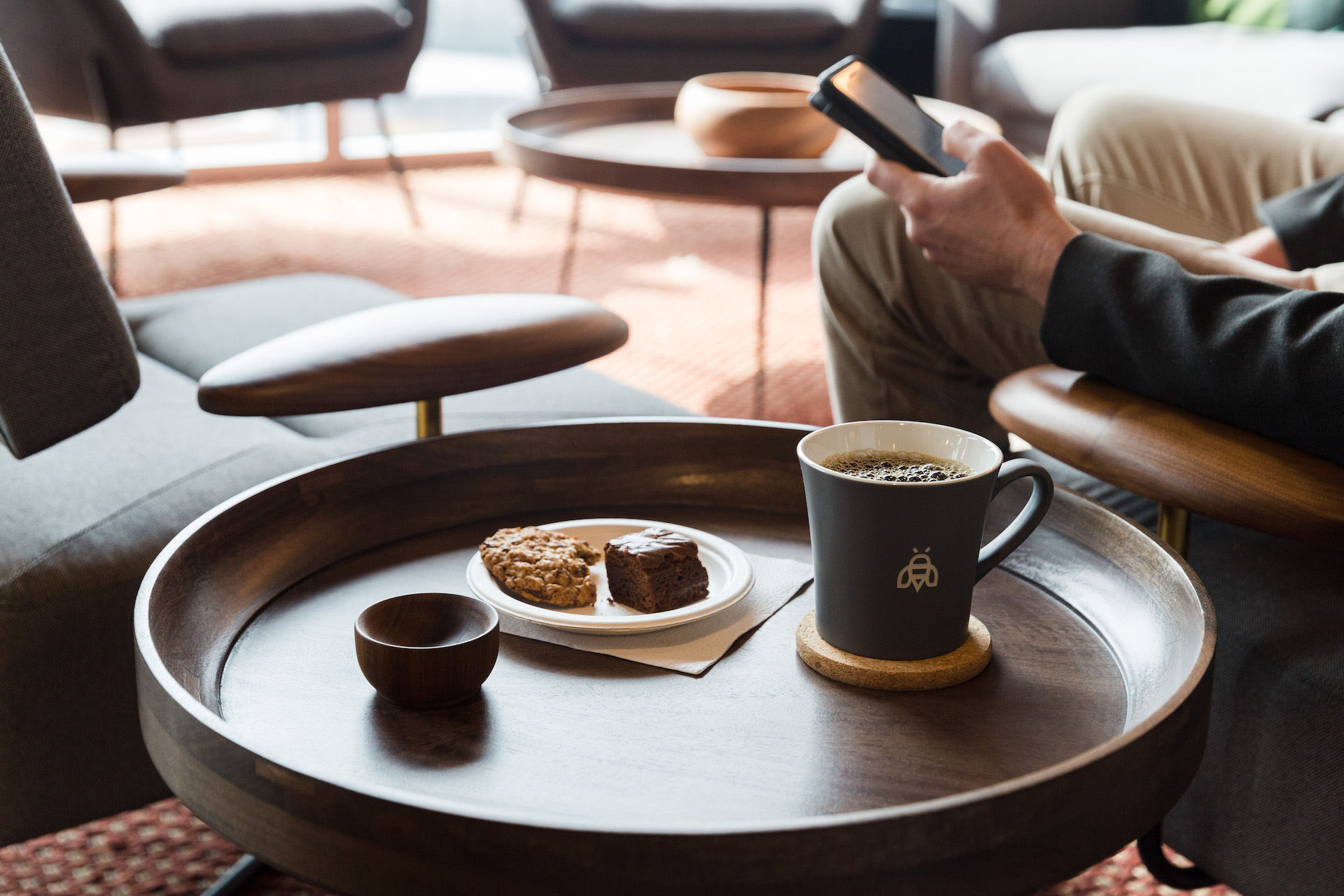 Meeting up for a virtual coffee is a great way to bond with colleagues one-on-one.