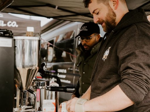 Baltimore's Black Acres Roastery produces artisanal roasts in small batches.