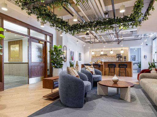 Get a look inside The Square with Industrious in Salt Lake City.