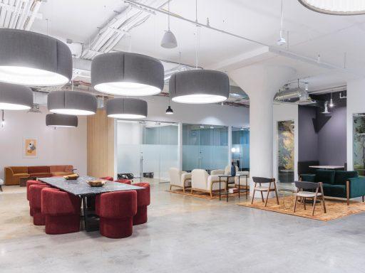 Get a peek inside Industrious 1000 Dean in Brooklyn.