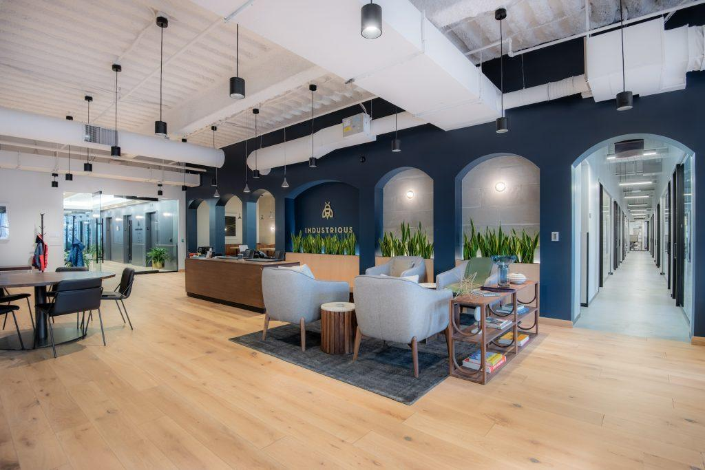 Industrious acquires key assets of Breather, an on-demand workspace platform.