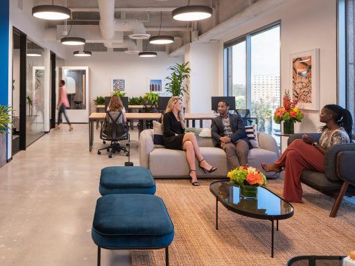 Custom Canvas Suites help anchor two hybrid workplaces set up for the enterprise.