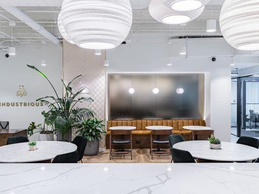 Get a peek inside Industrious Brickell, a flexible workplace in Miami, Florida.