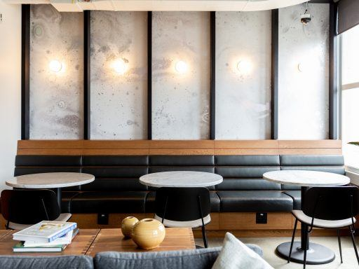 Senior Manager of Design and Growth Amy Riggs helps create spaces that allow members to work from anywhere.