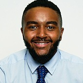 Picture shows Eric Webb - Operations Associate